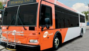Mississauga city bus