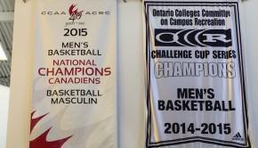 Humber's National Championship Banner