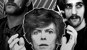 Lemmy, David Bowie and Glenn Frey