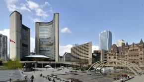Photo of Toronto City Hall taken by Wladyslaw Sojka